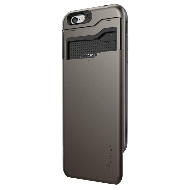 Spigen Slim Armor CS iPhone 6/6S Gunmetal - 2