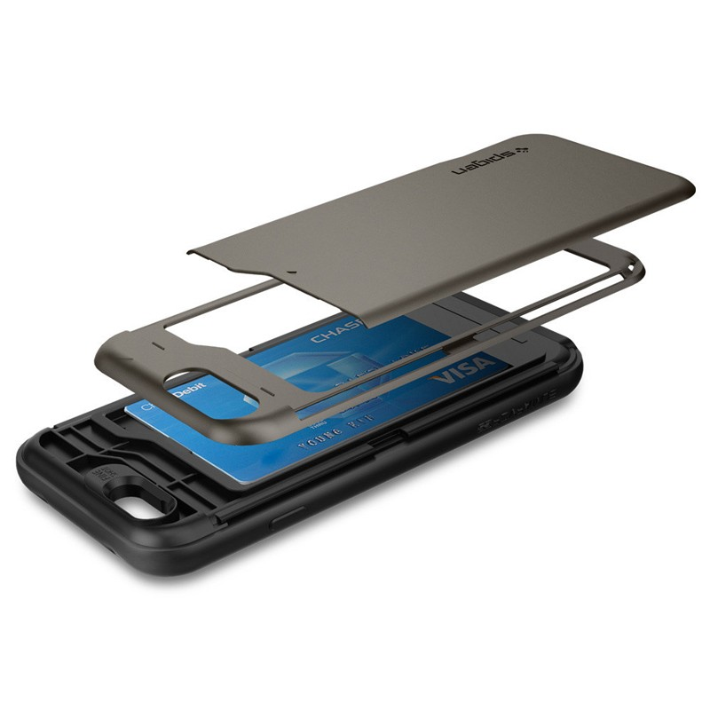 Spigen Slim Armor CS iPhone 6/6S Gunmetal - 5