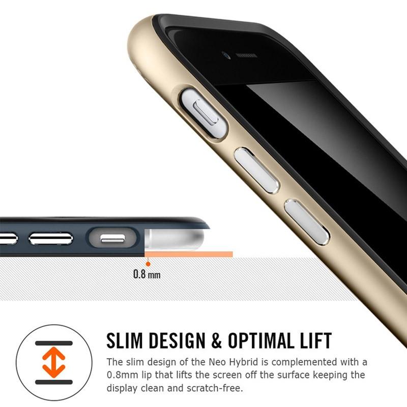 Spigen Neo Hybrid Case iPhone 6 Plus Gunmetal - 5