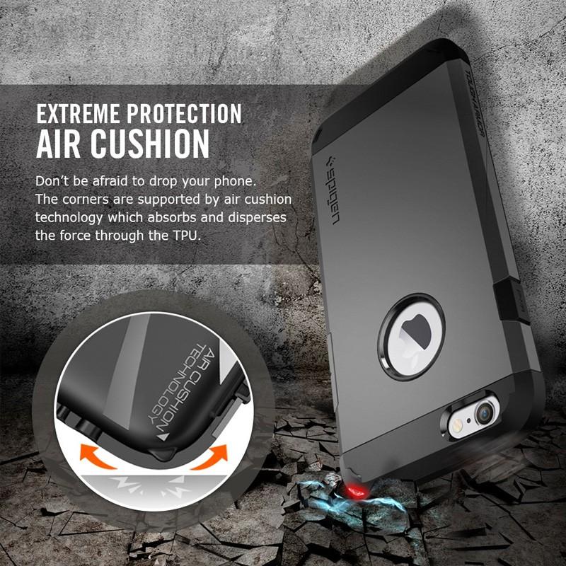 Spigen Tough Armor Case iPhone 6 Gunmetal - 8