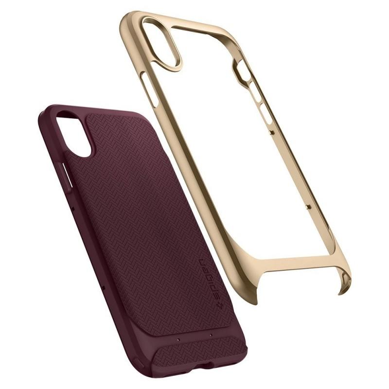Spigen Neo Hybrid iPhone X/Xs Burgundy - 2
