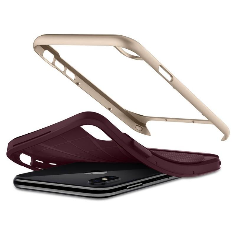 Spigen Neo Hybrid iPhone X/Xs Burgundy - 3