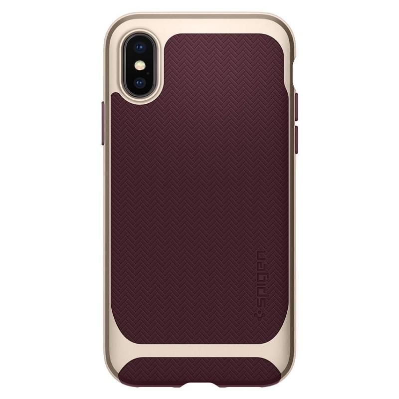 Spigen Neo Hybrid iPhone X/Xs Burgundy - 7