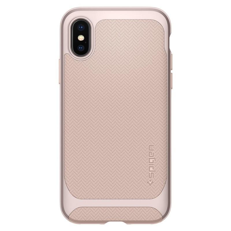 Spigen Neo Hybrid iPhone X/Xs Pale Dogwood - 6