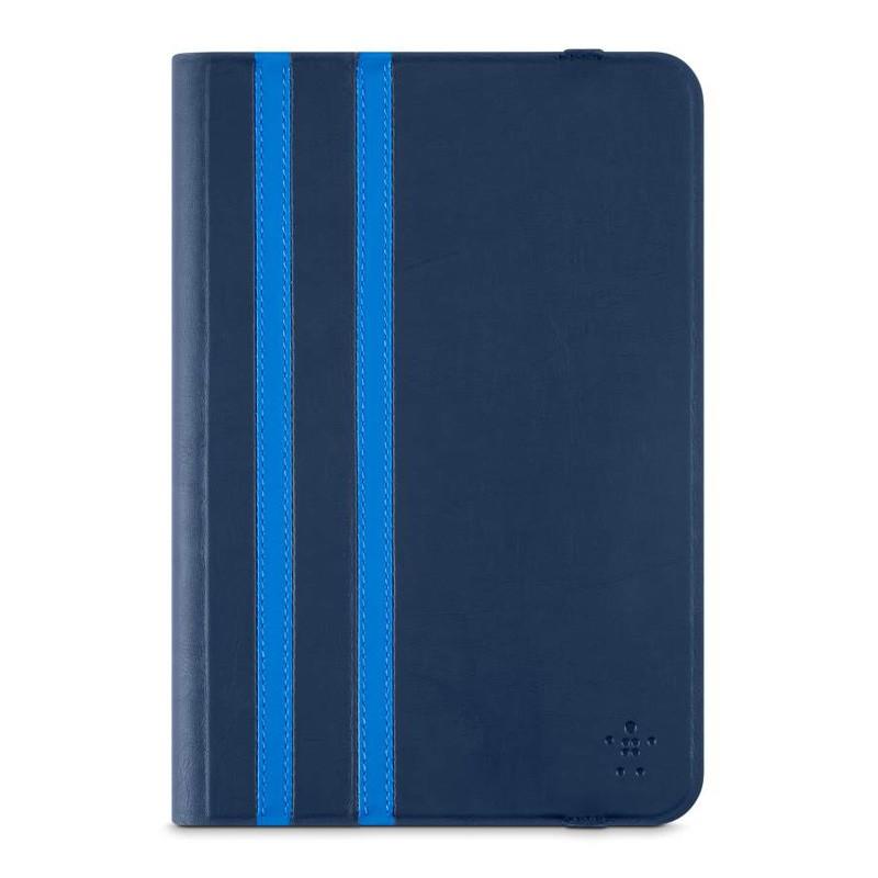 Belkin Twin Stripe Folio iPad mini (2019), iPad mini 4 Blue - 1