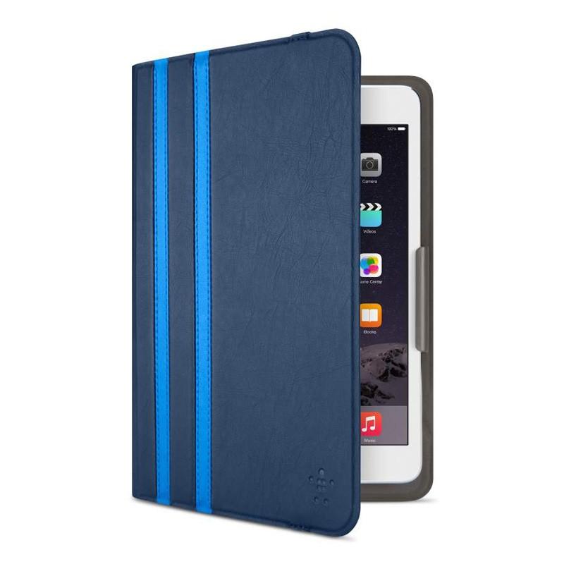 Belkin Twin Stripe Folio iPad mini (2019), iPad mini 4 Blue - 4
