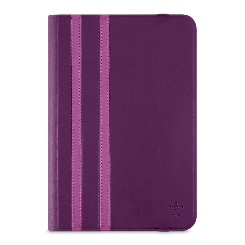 Belkin Twin Stripe Folio iPad mini 4 Purple - 1