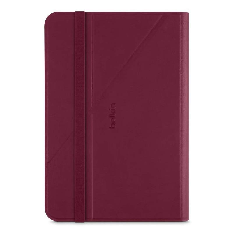 Belkin Twin Stripe Folio iPad mini 4 Maroon Red - 2