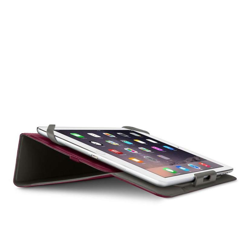 Belkin Twin Stripe Folio iPad mini 4 Maroon Red - 5
