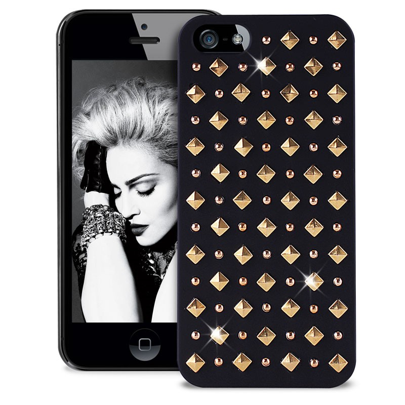 Puro Studs Backcover iPhone 5/5S Black - 3