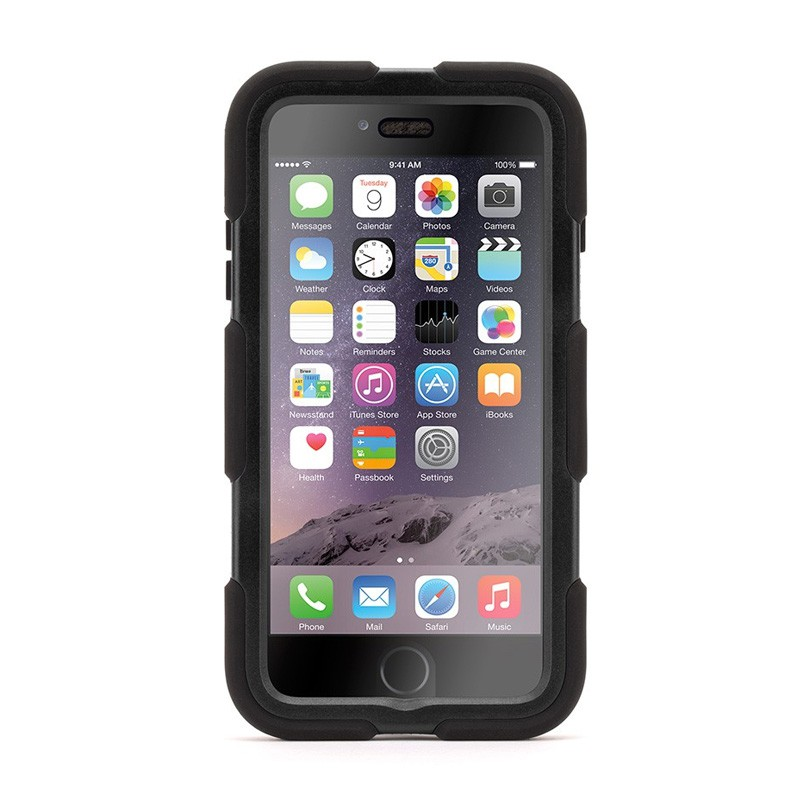 Griffin Survivor Case All Terrain iPhone 6 Plus Black - 1