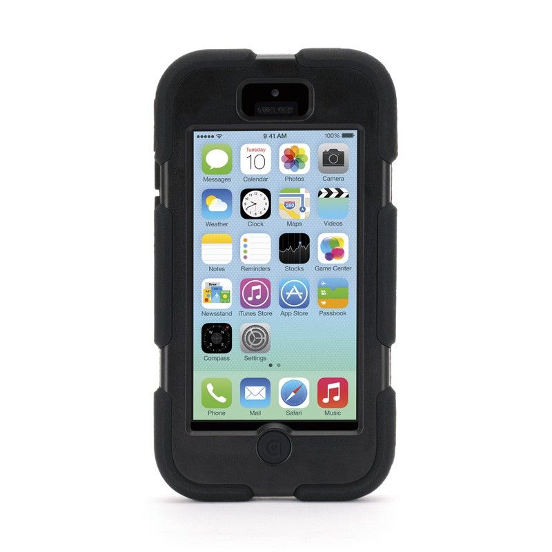 Griffin Survivor Extreme iPhone 5C Black