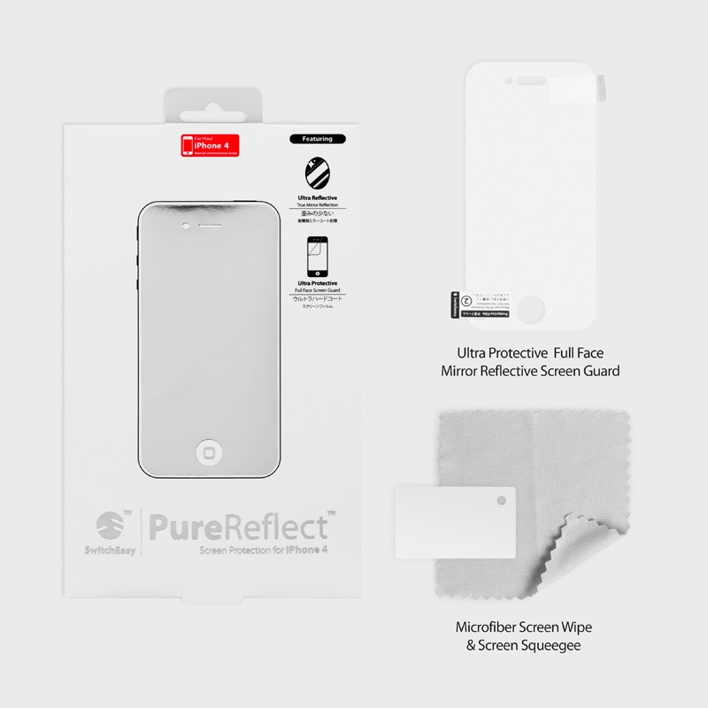 SwitchEasy Pure Reflect iPhone 4(S) - 3