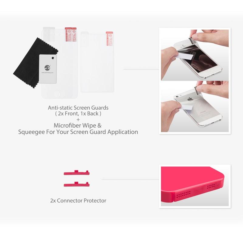 Switcheasy Nude iPhone 5 (fuchsia pink) 07