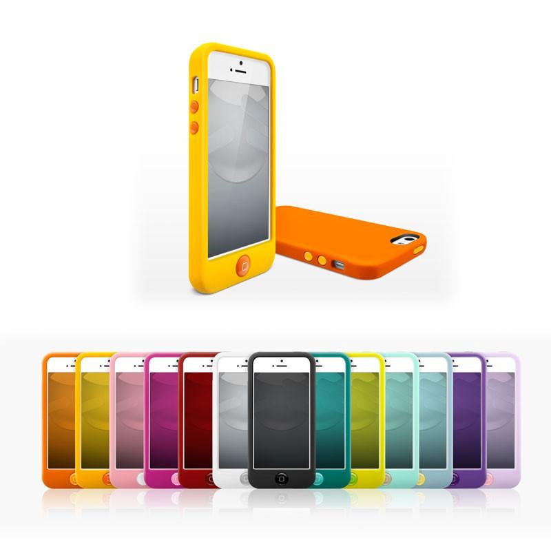 Switcheasy Silicon Colors iPhone 5 (purple) 08