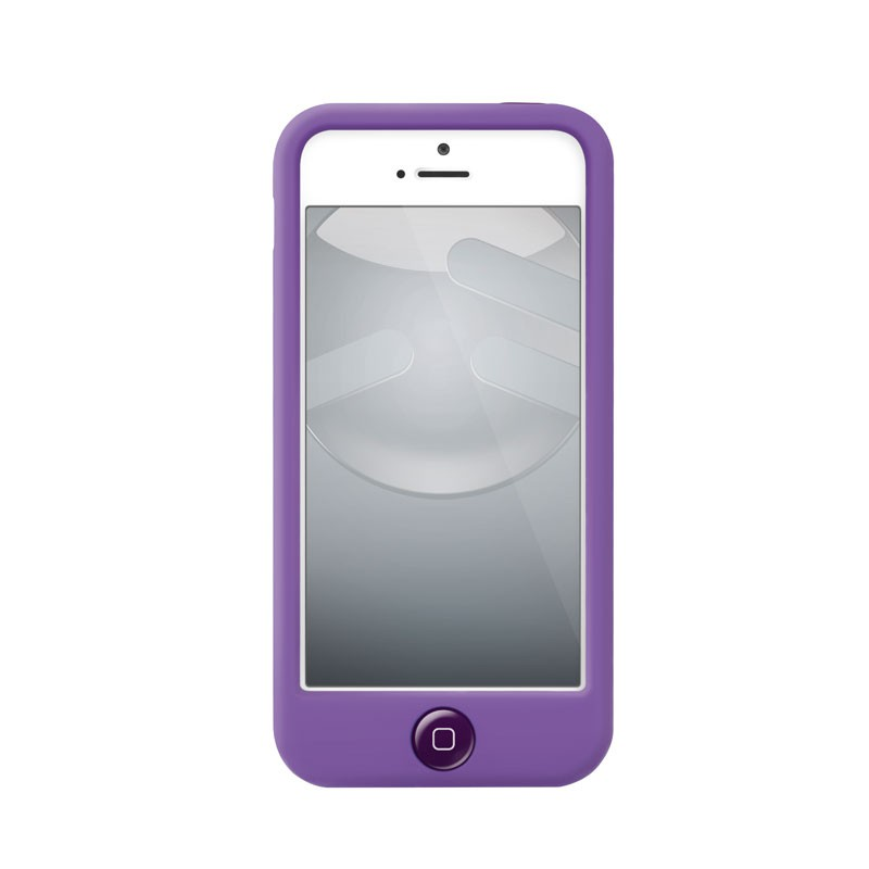 Switcheasy Silicon Colors iPhone 5 (purple) 03