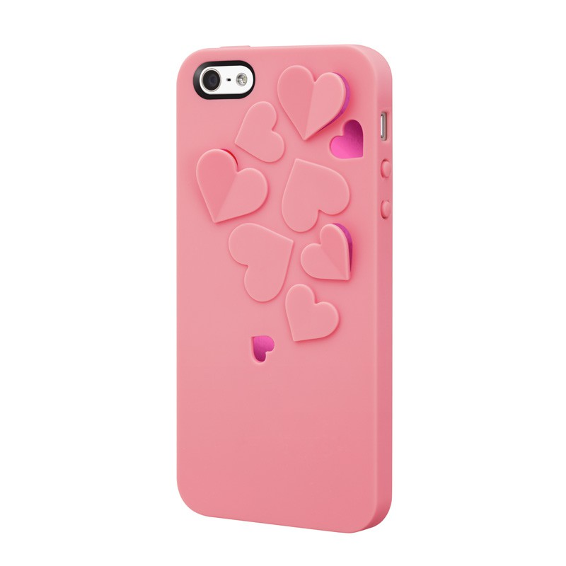 SwitchEasy Kirigami Hearts Baby Pink - 5
