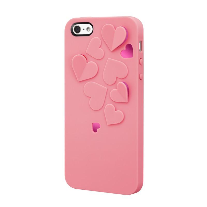 SwitchEasy Kirigami Hearts Baby Pink - 5