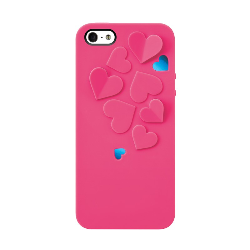 SwitchEasy Kirigami Hearts Hot Pink - 1