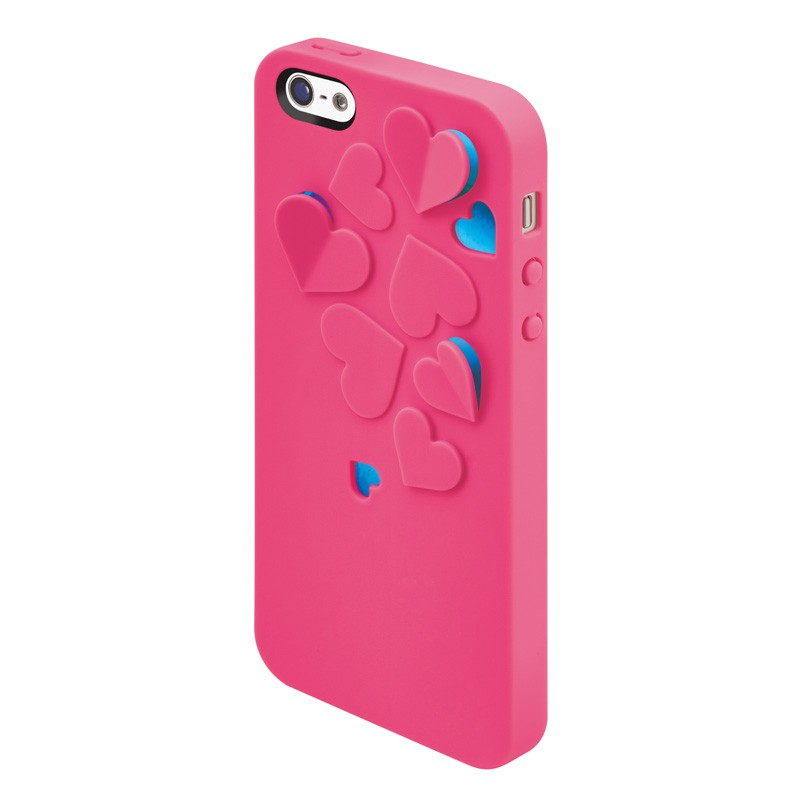 SwitchEasy Kirigami Hearts Hot Pink - 6