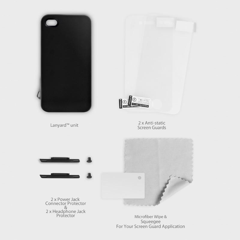 SwitchEasy Lanyard iPhone 4(S) Pink - 6