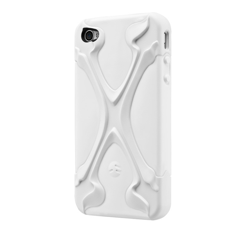 SwitchEasy Rebel X iPhone 4(S) White - 2