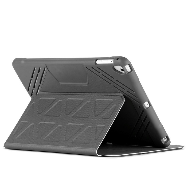 Targus - 3D Protection Hoes iPad (2017, iPad Air 2, iPad Air en iPad Pro 9,7 Grey 01