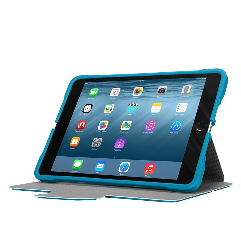 Targus - 3D Protection Case iPad mini (2019), iPad mini 4,3,2,1 Blue 06
