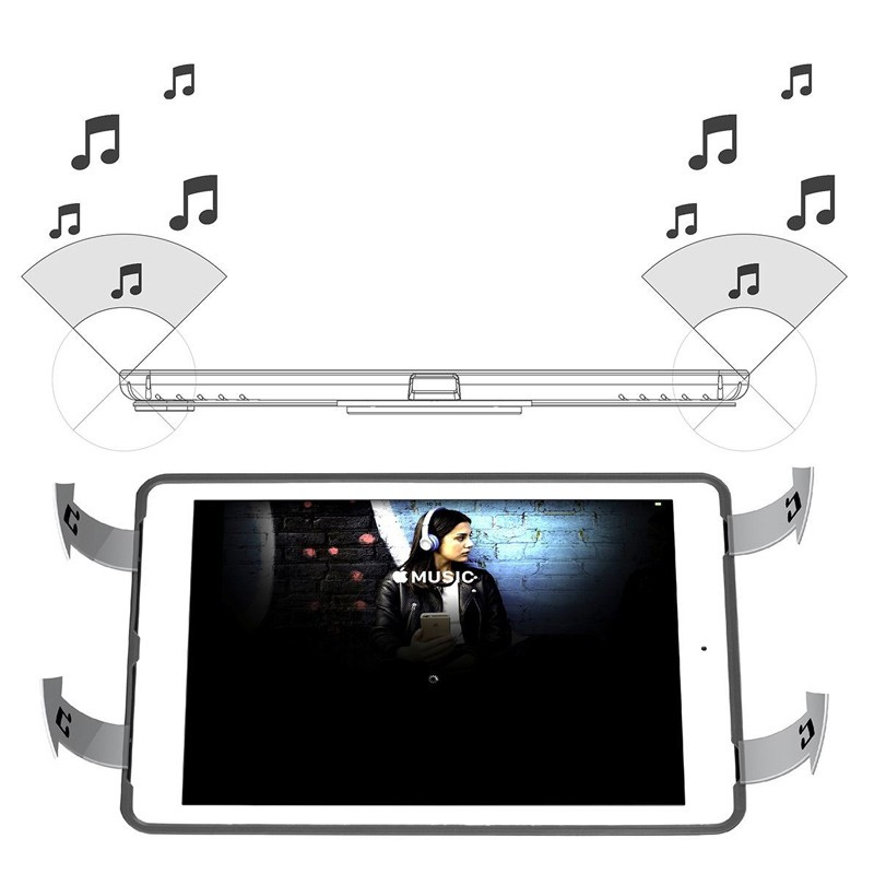 Targus - Versavu Case iPad (2017), iPad Pro 9,7, iPad Air 2 en iPad Air Red 12