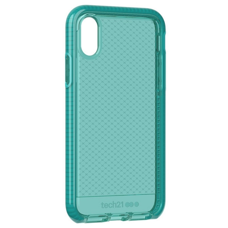Tech21 Evo Check Case iPhone X/XS Turquoise 02