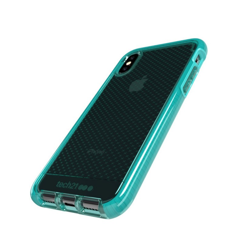 Tech21 Evo Check Case iPhone X/XS Turquoise 03