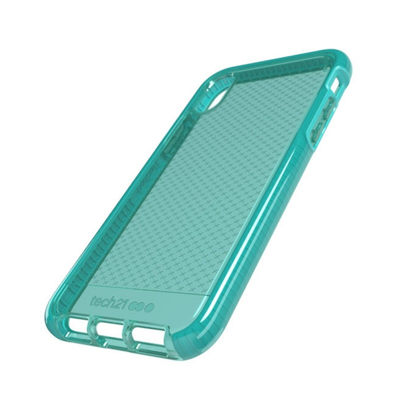 Tech21 Evo Check Case iPhone X/XS Turquoise 04