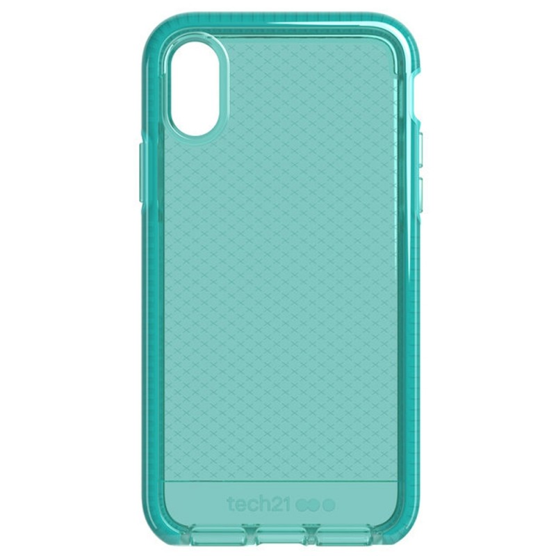 Tech21 Evo Check Case iPhone X/XS Turquoise 06