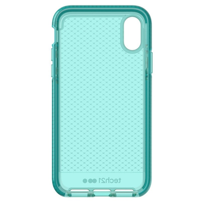 Tech21 Evo Check Case iPhone X/XS Turquoise 08