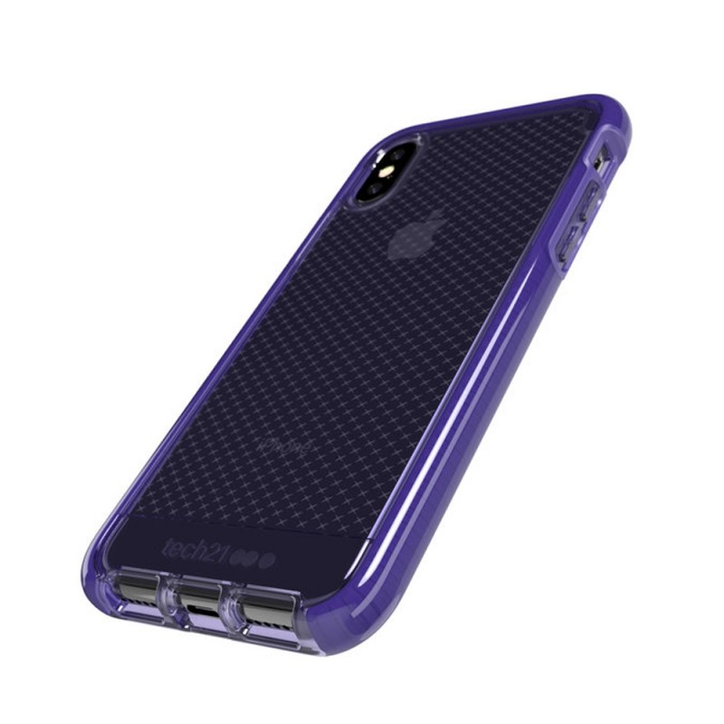 Tech21 Evo Check Case iPhone X/XS Violet 03