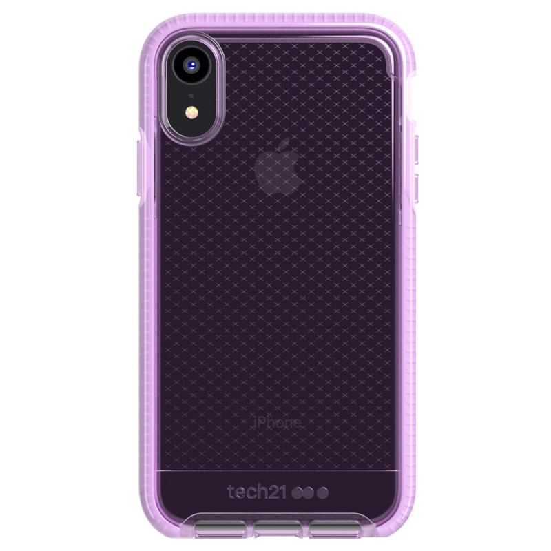 Tech21 Evo Check iPhone XR Hoesje Orchid 01