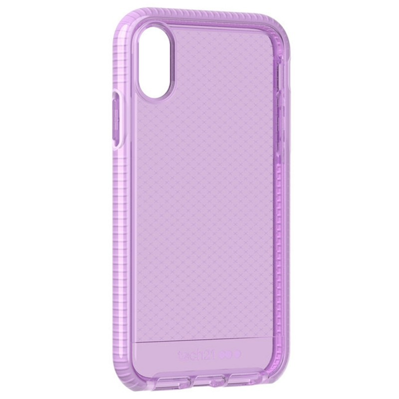 Tech21 Evo Check iPhone XR Hoesje Orchid 04