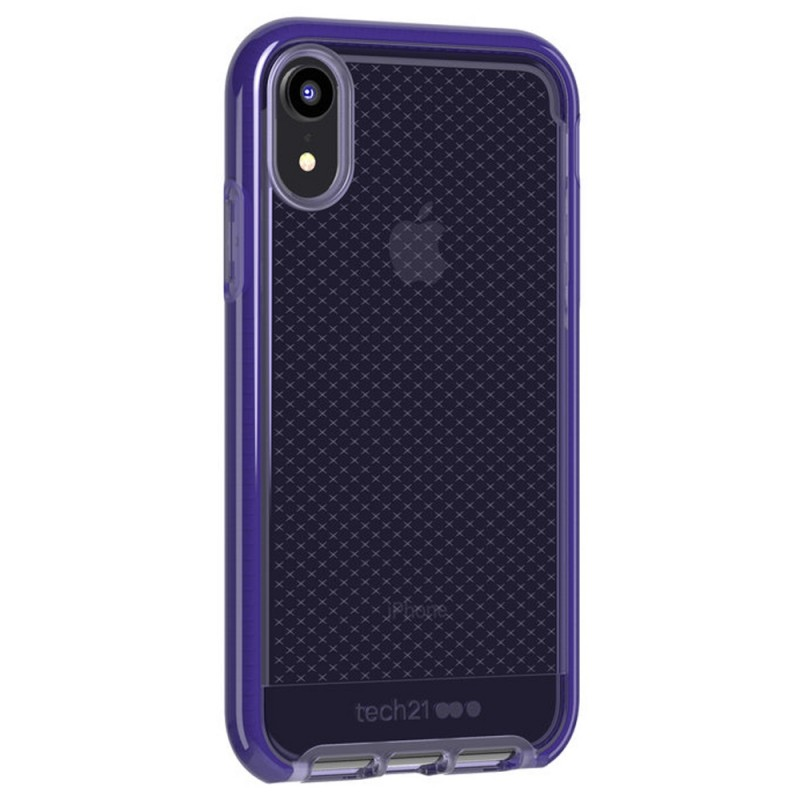 Tech21 Evo Check iPhone XR Hoesje Violet 02
