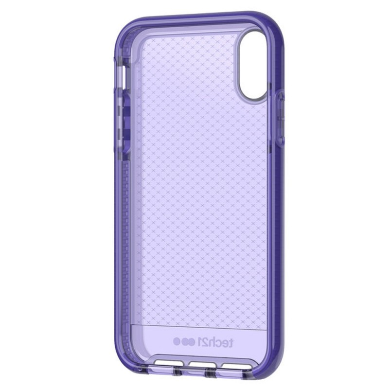 Tech21 Evo Check iPhone XR Hoesje Violet 06