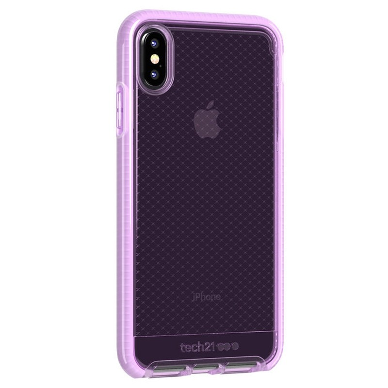 Tech21 Evo Check iPhone XS Max Hoes Orchid 02