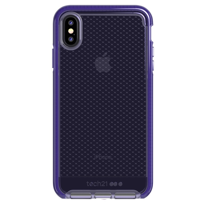 Tech21 Evo Check iPhone XS Max Hoes Ultra Violet 01