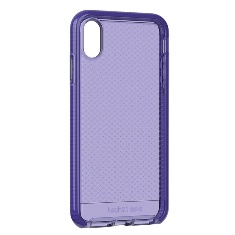 Tech21 Evo Check iPhone XS Max Hoes Ultra Violet 04