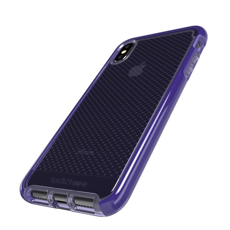Tech21 Evo Check iPhone XS Max Hoes Ultra Violet 03
