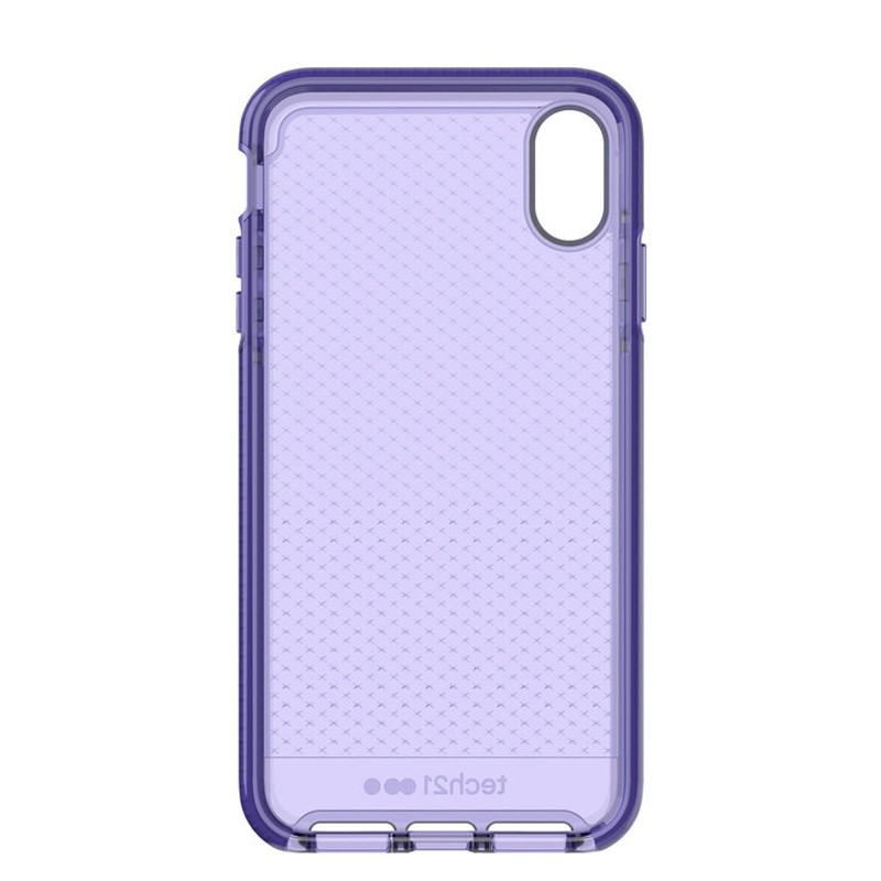 Tech21 Evo Check iPhone XS Max Hoes Ultra Violet 05