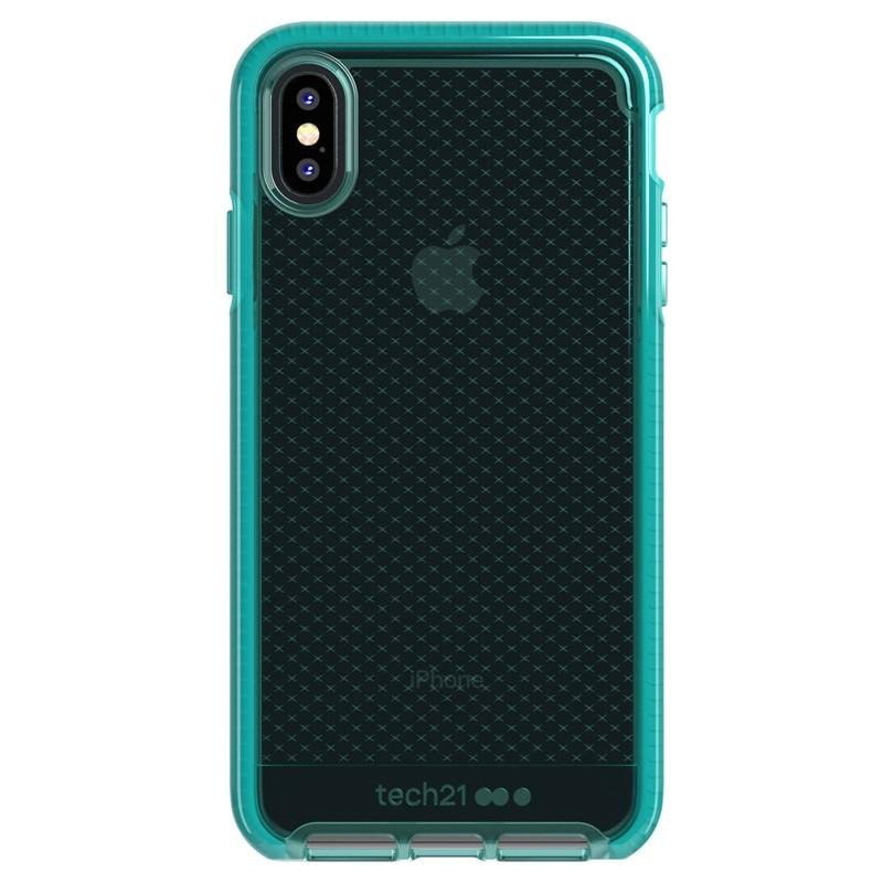 Tech21 Evo Check iPhone XS Max Hoes Ultra Vert 01