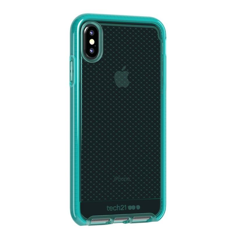 Tech21 Evo Check iPhone XS Max Hoes Ultra Vert 02