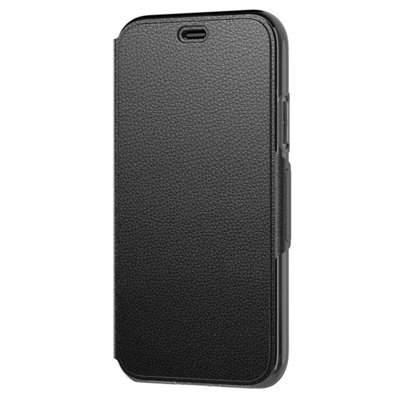 Tech21 Evo Wallet iPhone X/XS Hoes Zwart 01
