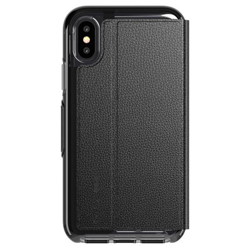 Tech21 Evo Wallet iPhone X/XS Hoes Zwart 02
