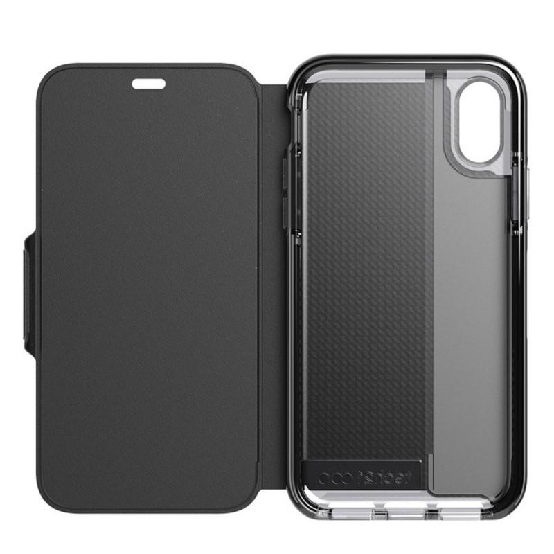 Tech21 Evo Wallet iPhone X/XS Hoes Zwart 05