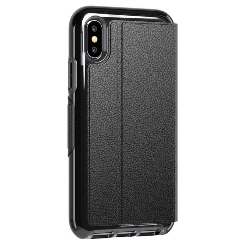 Tech21 Evo Wallet iPhone X/XS Hoes Zwart 06